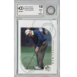Arnold Palmer Mint 10 Card and Used 1 Wood