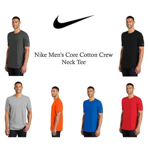 Nike Men's Core Cotton Crew Neck Tee