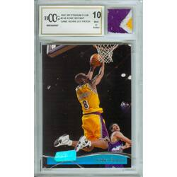Kobe Bryant Mint 10 Card/ Game Used Jersey Patch https://ak1.ostkcdn.com/images/products/3084272/3/Kobe-Bryant-Mint-10-Card-Game-Used-Jersey-Patch-P11218250.jpg?impolicy=medium