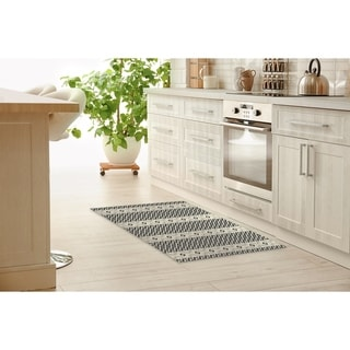 Link to ION CHARCOAL Kitchen Mat by Kavka Designs Similar Items in Rugs