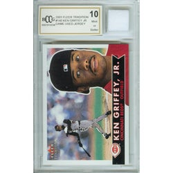 Ken Griffey Jr. Mint Card and Game-used Jersey - Thumbnail 0