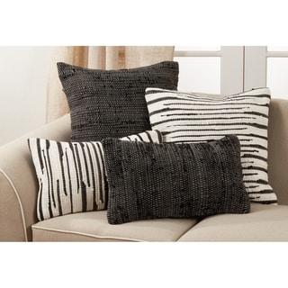 Link to Throw Pillow With Chindi Design Similar Items in Decorative Accessories