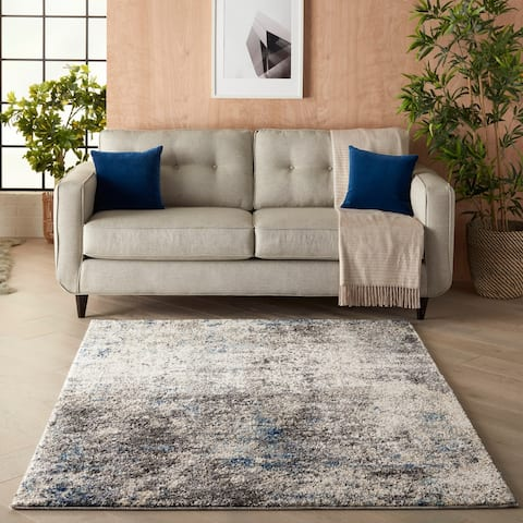Kathy Ireland Ivory Shore Area Rug
