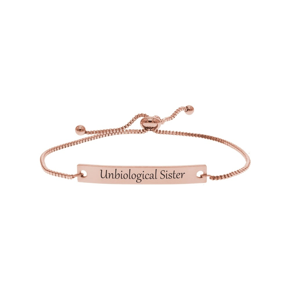 Good Heart Pink Box Fully Adjustable Genuine Leather Inspirational Bracelet Gold