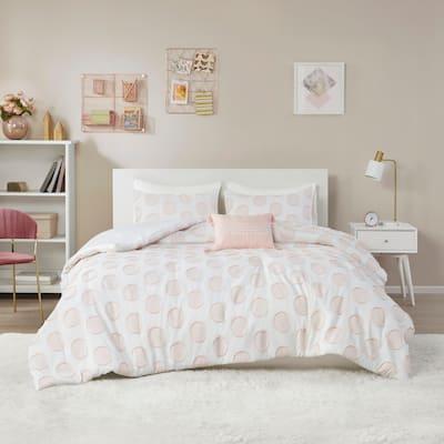 Intelligent Design Reese Clipped Jacquard Comforter Set