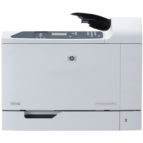 HP LaserJet CP6015DN Laser Printer - Color - 1200 x 600 dpi Print - P