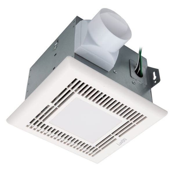 Shop Luvoni 70 Cfm Bathroom Exhaust Fan Built In Led Light