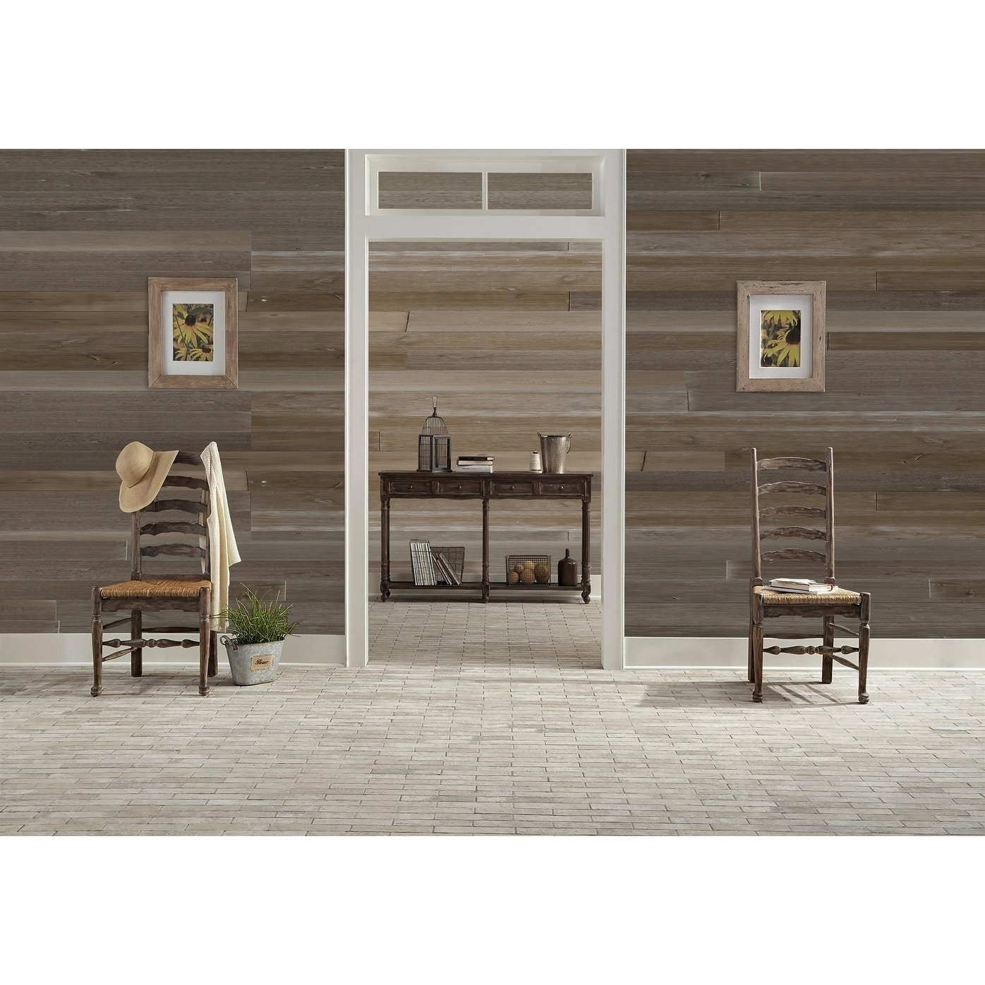 1 Square Foot Sample Pack Reclaimed Barn Wood Wall Paneling Planks For Accent Walls
