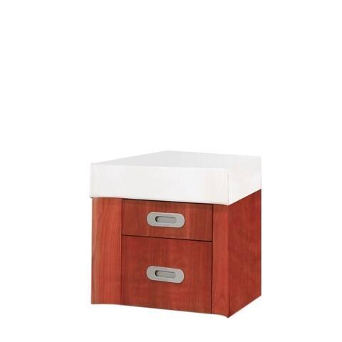 Casaya Center Drawer Cabinet in Cherry Wood