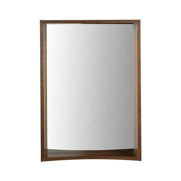 Madryn Collection Suite Stained Mirror in Dark Walnut