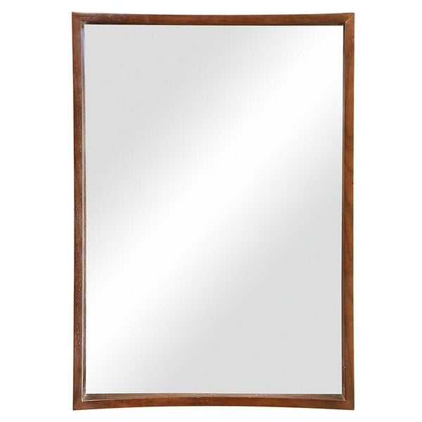 Madryn Collection Cognac Stained Mirror