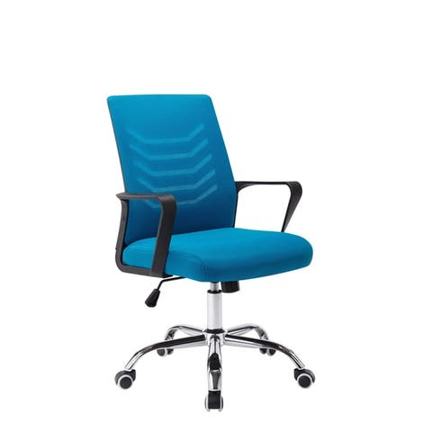 Porthos Home Baez Swivel Office Chair, Mesh Back And Adjustable Height