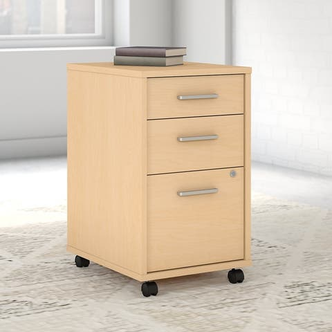 Method 3 Drawer Mobile File Cabinet from Office by kathy ireland®