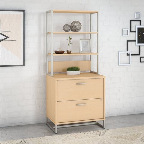Method Lateral File Cabinet with Hutch from Office by kathy ireland®