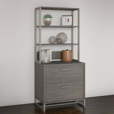 Method Lateral File Cabinet with hutch from Office by kathy ireland?