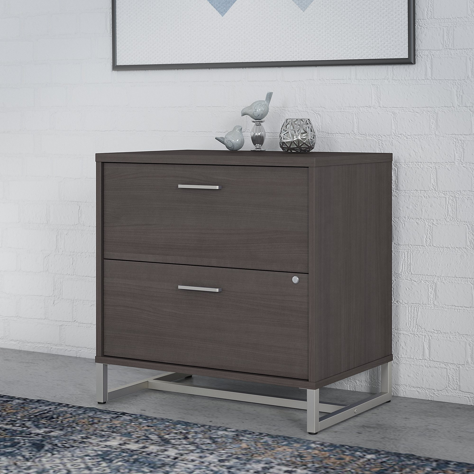 Image of: Shop Black Friday Deals On Method 2 Drawer Lateral File Cabinet From Office By Kathy Ireland On Sale Overstock 30864992