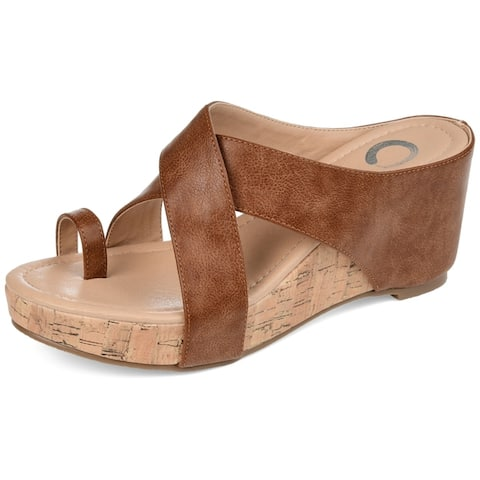 Journey + Crew Womens Wedge Sandal