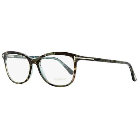 Tom Ford TF5388 056 Womens Turquoise Havana 54 mm Eyeglasses - Turquoise Havana