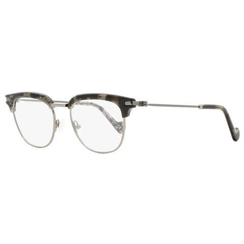 Moncler ML5021 A55 Unisex Gray Havana 49 mm Eyeglasses - Gray Havana