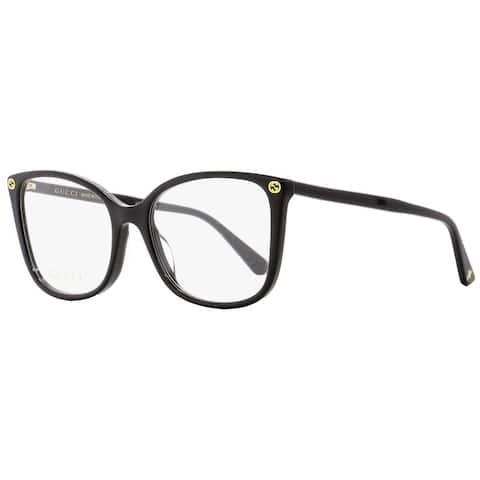 Gucci GG0026O 001 Womens Black 53 mm Eyeglasses