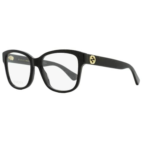 Gucci GG0038O 001 Womens Black 54 mm Eyeglasses
