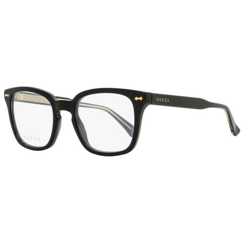 Gucci GG0184O 001 Unisex Black 50 mm Eyeglasses