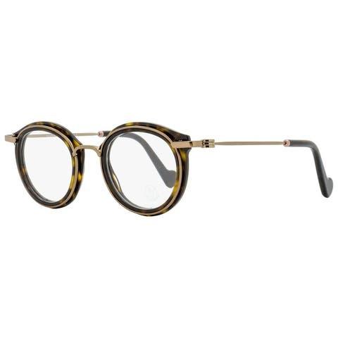 Moncler ML5007 052 Unisex Havana/Bronze 45 mm Eyeglasses