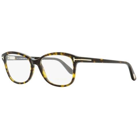 Tom Ford TF5404 052 Womens Dark Havana 53 mm Eyeglasses - Dark Havana