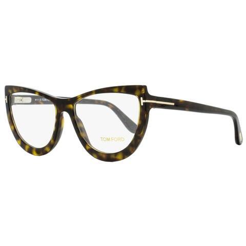 Tom Ford TF5519 052 Womens Dark Havana 55 mm Eyeglasses - Dark Havana