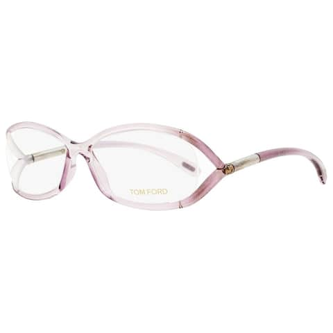 Tom Ford TF5045 486 Womens Transparent Amethyst 56 mm Eyeglasses - Transparent Amethyst