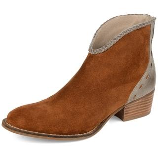 Journey + Crew Women's Genuine Leather Bootie