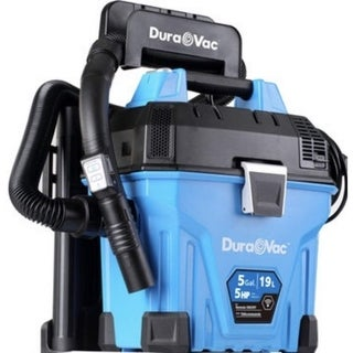 Vacmaster Wall Mountable Wet/Dry Garage Vac with Remote Control, 5 Gallon