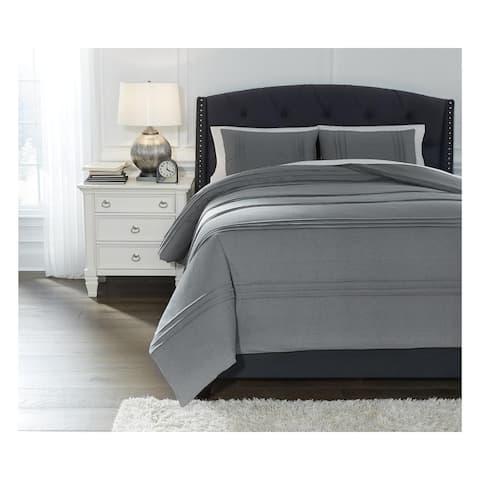Mattias Gray Comforter Set