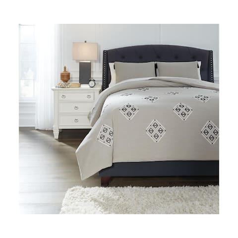Jawanza Gray Comforter Set