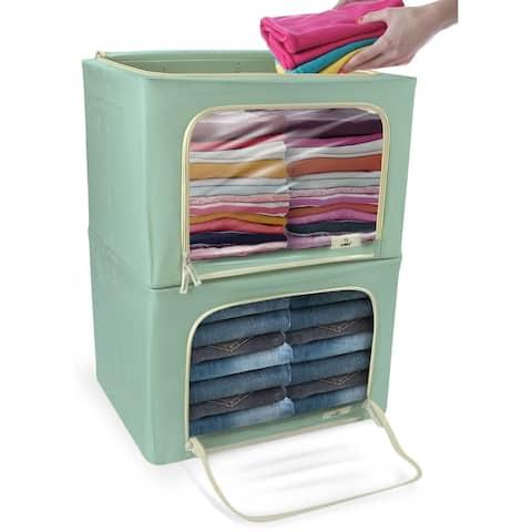 Storage Box with Window- 2 Pack