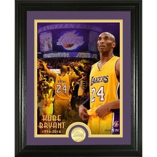 Kobe Bryant Bronze Coin Photo Mint
