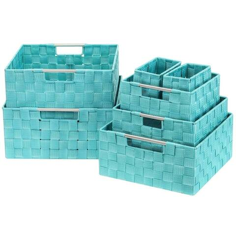 Weave 7 Piece Basket Set