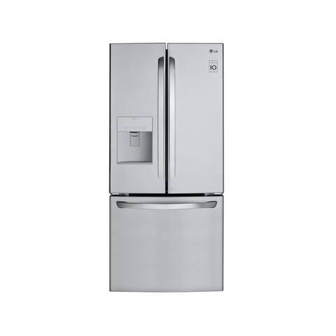LG LFDS22520S 21.8 cu.ft. 3-Door French Door Refrigerator