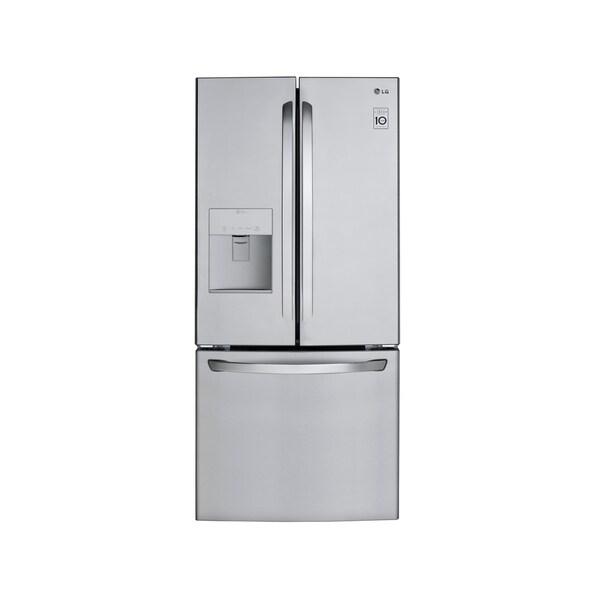 LG LFDS22520S 21.8 cu.ft. 3-Door French Door Refrigerator. Opens flyout.