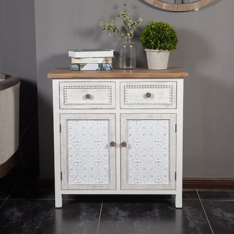 Wood Roma Buffet Console Cabinet