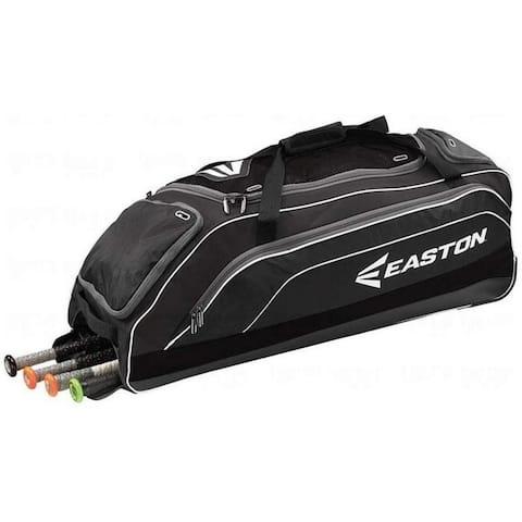 Easton E700W Bat & Equipment Wheeled Bag, Black