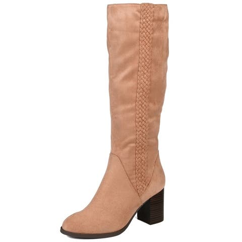 Journey + Crew Womens Regular Wide Calf and Extra Wide Calf Boot