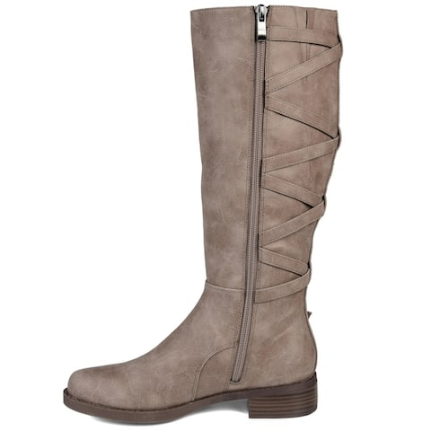Journey + Crew Women's Regular, Wide Calf and Extra Wide Calf Boot