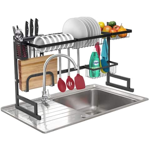 Dish Drying Rack Over Sink Display Stand