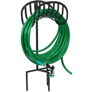 Liberty Garden Manger Style Metal Gareden Hose Stand - 8' x 10'