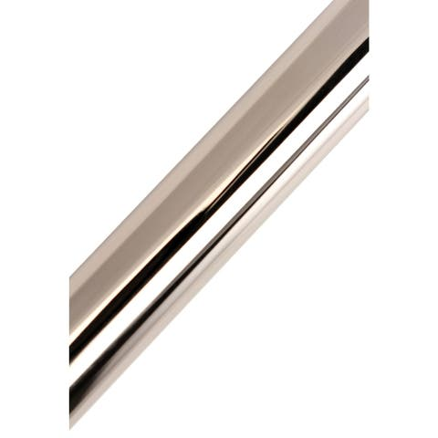 Edenscape 60-Inch - 72-Inch Adjustable Stainless Steel Tension Shower Curtain Rod