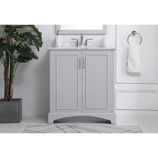 30-inch bathroom vanity