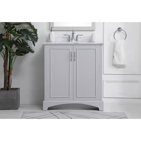 30-inch bathroom vanity