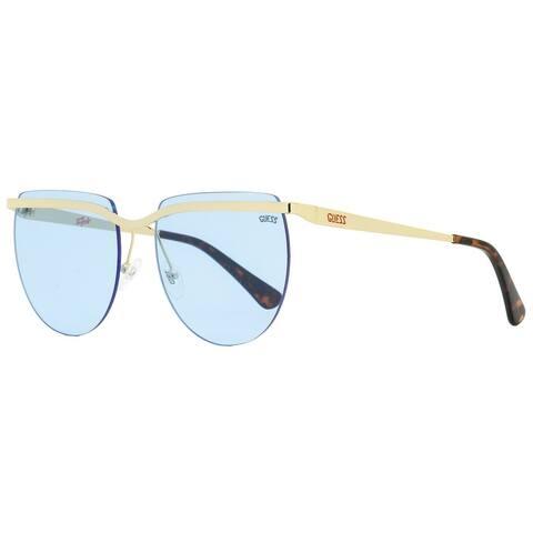 Guess GU8203 32V Mens Gold/Havana 59 mm Sunglasses
