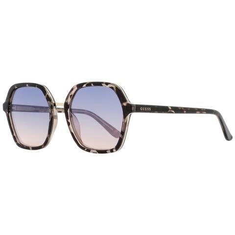 Guess GU7557 20W Mens Gray Havana 54 mm Sunglasses - Gray Havana